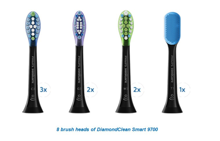 8-brush-heads-of-DiamondClean-Smart-9700